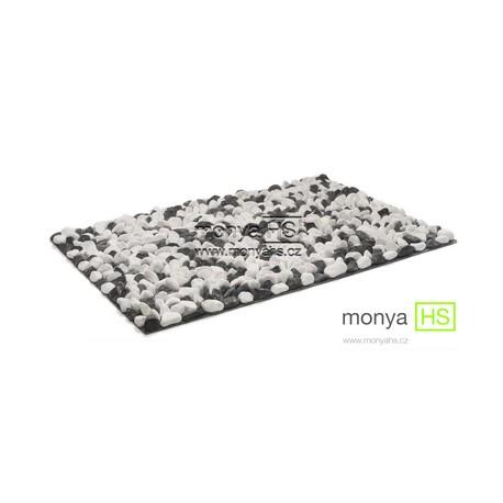 StoneBoard - Mramor (bílo-černá) 40x30 cm (16 - 25 mm)