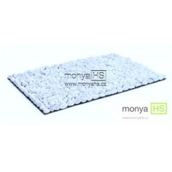 StoneBoard - Mramor obláčkově bílá 40 x 30 cm (16 - 25 mm)