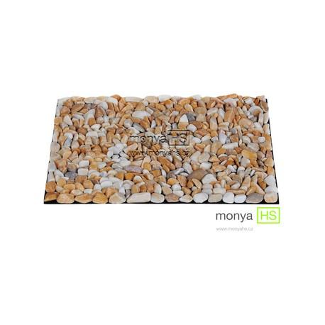 StoneBoard - Mramor béžový 40 x 30 cm (16 - 25 mm)